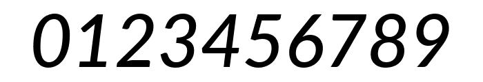 Lato Medium Italic Font OTHER CHARS