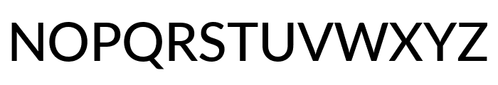 Lato Medium Font UPPERCASE