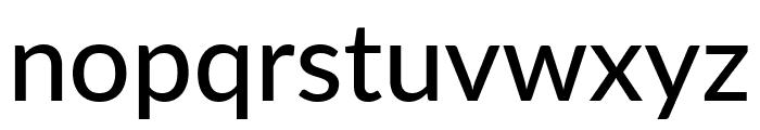 Lato Medium Font LOWERCASE