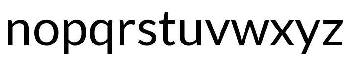 Lato Regular Font LOWERCASE