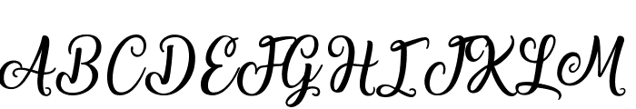Laughing and Smiling Font UPPERCASE
