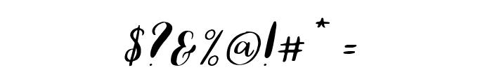Lauren-Regular Font OTHER CHARS