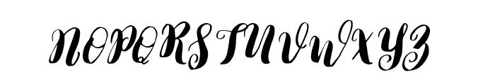 Lauren-Regular Font UPPERCASE