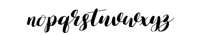 Lauren-Regular Font LOWERCASE