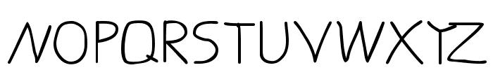 LaurensErste Font UPPERCASE