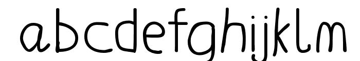 LaurensErste Font LOWERCASE