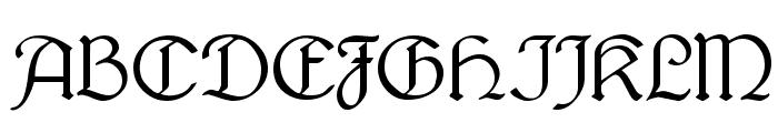 Lautenbach Alternate Font UPPERCASE