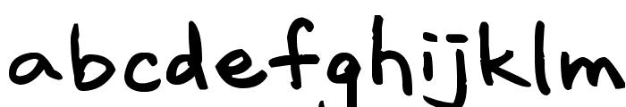 Lavalamp Font LOWERCASE