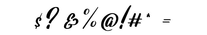 Lavalette Font OTHER CHARS