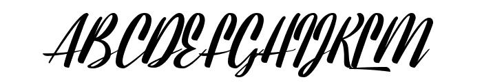 Lavalette Font UPPERCASE