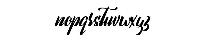 Lavalette Font LOWERCASE