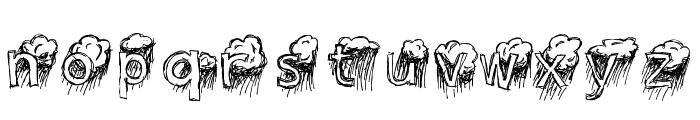 Lavender Rainstorm Font LOWERCASE