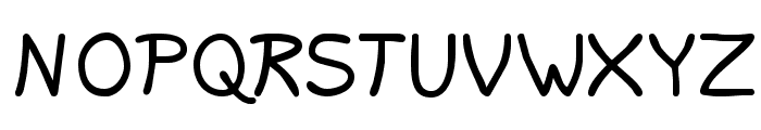 Lavi Font UPPERCASE