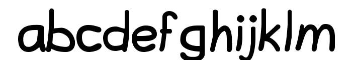 Lavi Font LOWERCASE