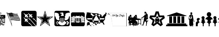 Law & Order Font UPPERCASE