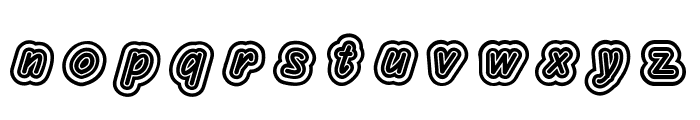 Layeradri Font LOWERCASE