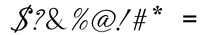 Laylantia Font OTHER CHARS