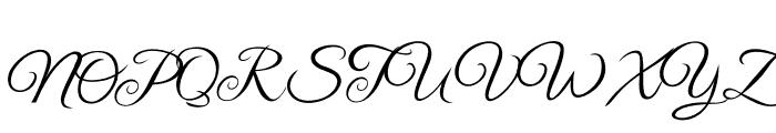 Laylantia Font UPPERCASE