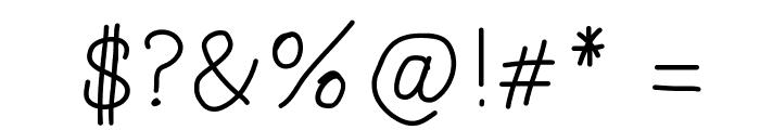 Lazara Font OTHER CHARS
