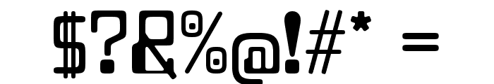 Lazenby Computer Liquid Font OTHER CHARS
