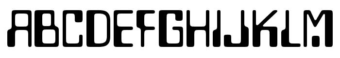 Lazenby Computer Liquid Font UPPERCASE