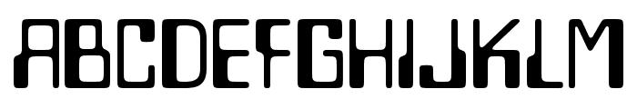 Lazenby Computer Liquid Font LOWERCASE