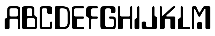 Lazenby Computer Smooth Font UPPERCASE