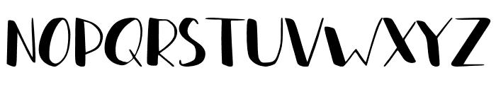 Lazty Font UPPERCASE