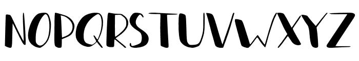 Lazty Font LOWERCASE