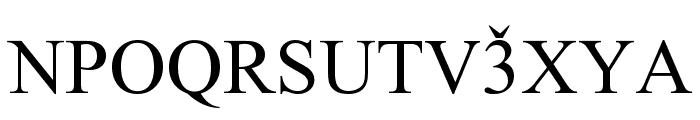 Lazuri ATHLETIC Font UPPERCASE