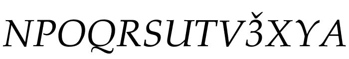 Lazuri COSMIC Font UPPERCASE