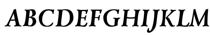 Lazurski Bold Italic Font UPPERCASE