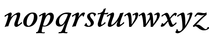 Lazurski Bold Italic Font LOWERCASE