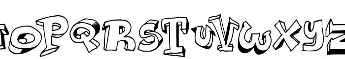 Lazy Day Font UPPERCASE