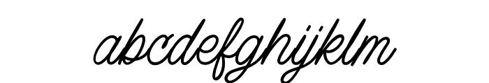 LazyRidePersonalUse-Regular Font LOWERCASE
