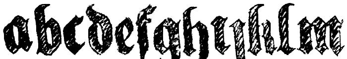 la fraktouille Font UPPERCASE