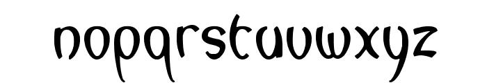 lagegg Font LOWERCASE