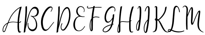 lanara Script-demo Font UPPERCASE