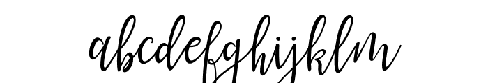 lanara Script-demo Font LOWERCASE