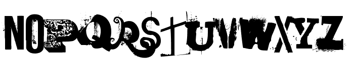 laundromat 1967 Font UPPERCASE