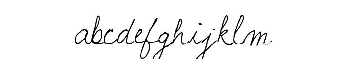 lauralinda Font LOWERCASE