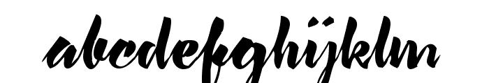 lavomatic  script Font LOWERCASE