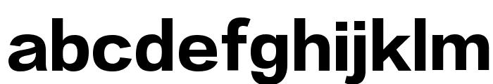 Lantinghei TC Heavy Font LOWERCASE
