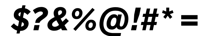 Lab Grotesque Black Italic Font OTHER CHARS