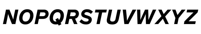 Lab Grotesque Black Italic Font UPPERCASE