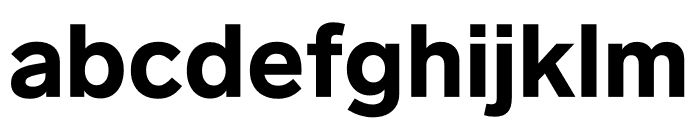 Lab Grotesque Black Font LOWERCASE
