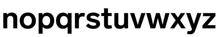 Lab Grotesque Bold Font LOWERCASE