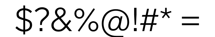 Lab Grotesque Light Font OTHER CHARS