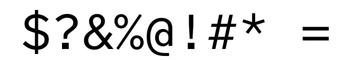 Lab Grotesque Mono Regular Font OTHER CHARS