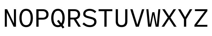 Lab Grotesque Mono Regular Font UPPERCASE
